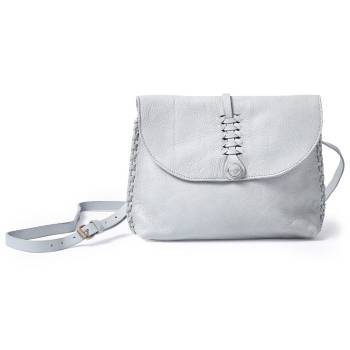NOOSA ORIGINAL Handtasche WABI SABI BRAIDED SMALL SHOULDERBAG light grey