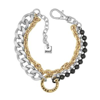 DKNY Armband MIXED METAL MULTI CHAIN tricolor