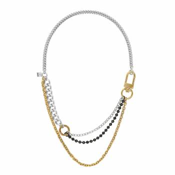DKNY Kette MIXED METAL MULTI CHAIN tricolor