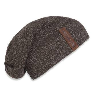 KNIT FACTORY Beanie COCO braun taupe