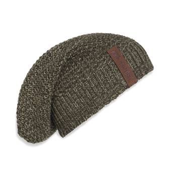 KNIT FACTORY Beanie COCO grün olive