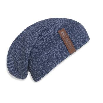 KNIT FACTORY Beanie COCO jeans indigo