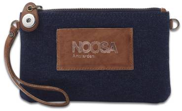 NOOSA ORIGINAL Handtasche INDIGO DENIM MINIBAG dark denim - ohne Chunk