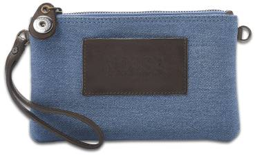 NOOSA ORIGINAL Handtasche INDIGO DENIM MINIBAG light denim - ohne Chunk