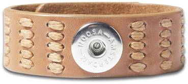 NOOSA ORIGINAL Armband INDIGO LOVE LIFE brown