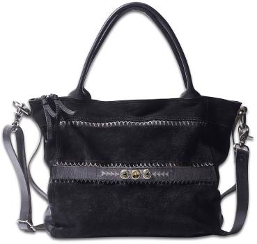 NOOSA ORIGINAL Shopper RAW ROMANCE embroidery black - ohne Chunks