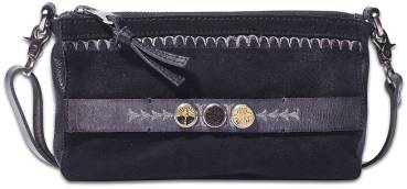 NOOSA ORIGINAL Handtasche CITYBAG embroidery black - ohne Chunks