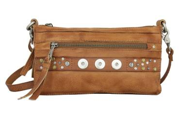 NOOSA ORIGINAL Handtasche CITYBAG mid brown - ohne Chunks