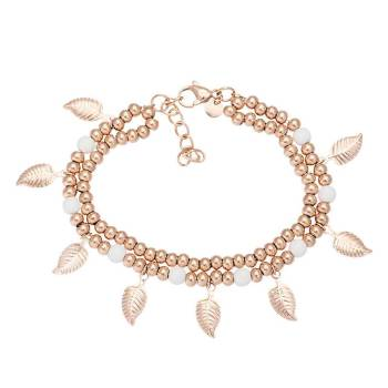 iXXXi Armband DAZZLING LEAVES rosé