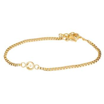 iXXXi Armband BOX CHAIN TOP PART BASE gold