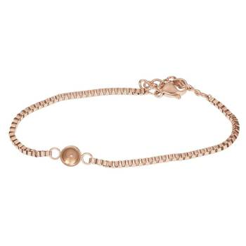 iXXXi Armband BOX CHAIN TOP PART BASE rosé