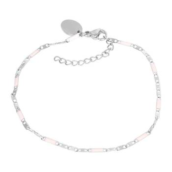 iXXXi Armband CURACAO PINK silber