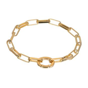 iXXXi Armband SQUARE CHAIN gold
