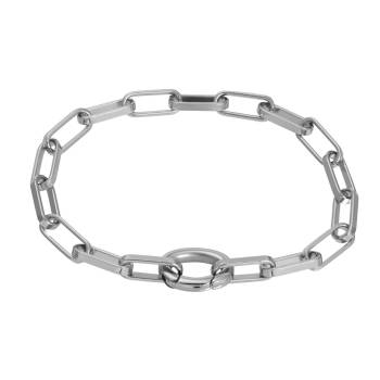 iXXXi Armband SQUARE CHAIN silber