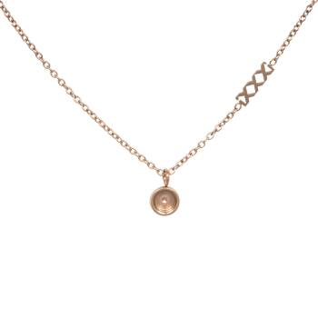 iXXXi KETTE CHAIN TOP PART BASE rosé 40 cm