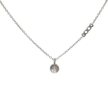 iXXXi KETTE CHAIN TOP PART BASE silber 40 cm