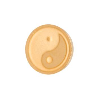 iXXXi Aufsatz TOP PART YIN YANG Ø 6 mm gold