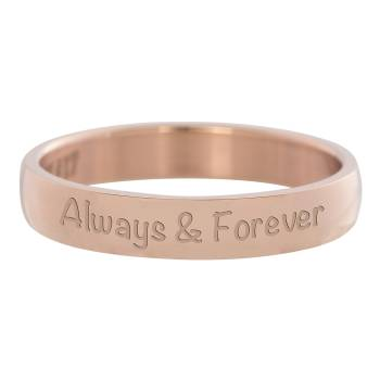 iXXXi Füllring ALWAYS AND FOREVER rosé - 4 mm