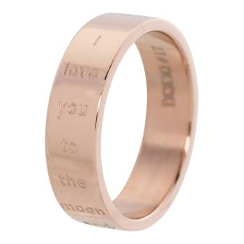 iXXXi Füllring I LOVE YOU TO THE MOON AND BACK rosé - 6 mm