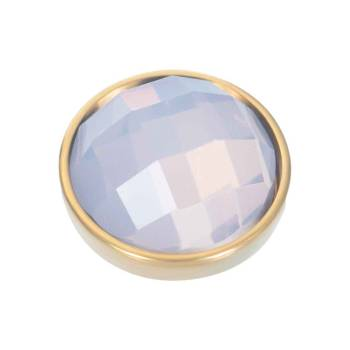 iXXXi Aufsatz TOP PART FACETTE opal Ø 6 mm gold