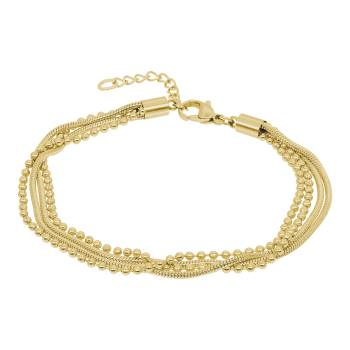 iXXXi Armband SNAKE BALL SLIM gold