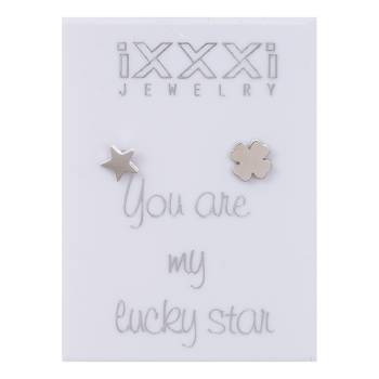 iXXXi Ohrstecker You are my lucky star - silber
