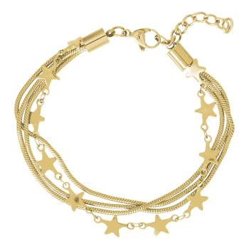 iXXXi Armband SNAKE AND STAR gold