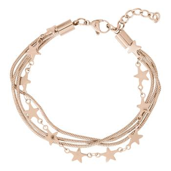 iXXXi Armband SNAKE AND STAR roségold