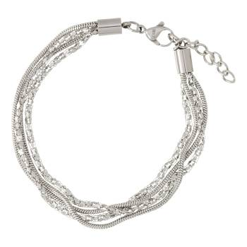 iXXXi Armband SNAKE AND POPCORN silber