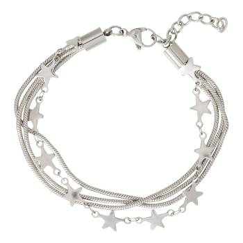 iXXXi Armband SNAKE AND STAR silber