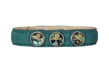 NOOSA PETITE Armband forrest green - ohne Chunks
